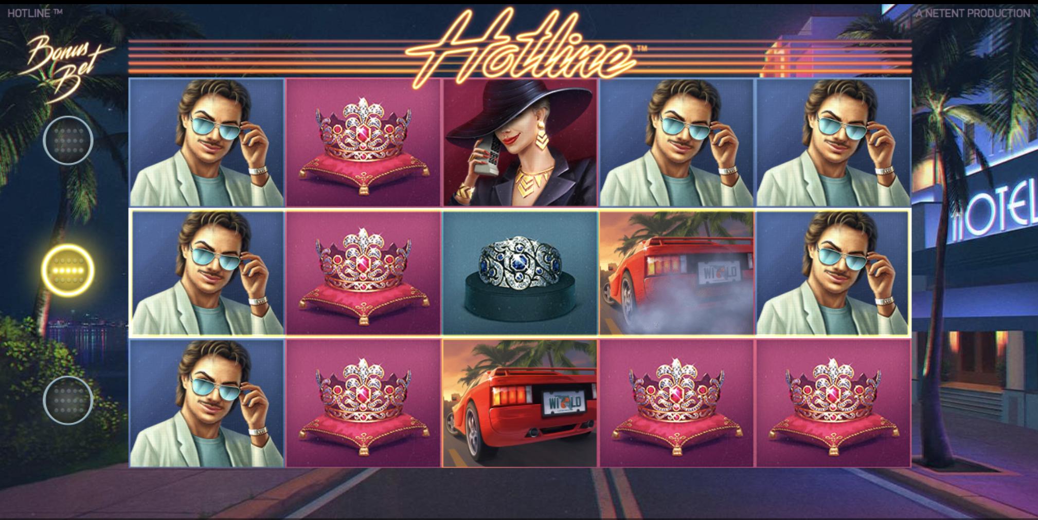 Hotline kolikkopeli