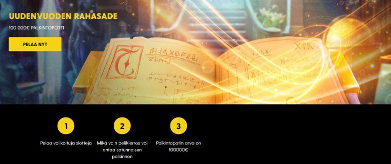 100 000 euroa - Bethardilla